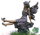 Fairy Playing w/ Butterfly  - Indoor / Outdoor Statue Sculpture Figure 14