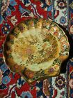 Royal Satsuma Large Decorative Plate, Hand Painted, Signed, Mint + Rare!