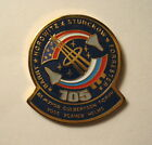 NASA Space Shuttle ENDEAVOUR STS 105 Mission ISS Crew Rotation LAPEL PIN