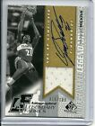 DOMINIQUE WILKINS 2003-04 SP GAME USED LEGENDARY FABRICS AUTOGRAPH JERSEY 100