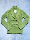 NWOT OLD NAVY Shawl Collar Toggle Button Lambswool/Angora Rabbit Blend Sweater S