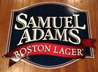 New Samuel Adams Boston Lager Tin Beer Large Sign Tacker