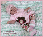 Baby Rina Vinyl Doll Reborn KIT  by Michelle Fagan