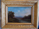 Antique 19th Century American Hudson River Valley landscape oil, no reserve