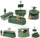 Military Radar Blockhouse Playset Army Men Toy Soldier Accessories