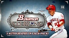 2012 Bowman Sterling Baseball Hobby Box New Unopened Trout Harper Darvish