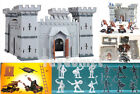 Castle Knights Catapult Medieval Toy Soldiers Figures Playset A Free Ship wTrack