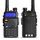 POFUNG UV-5R VHF/UHF Dual-Band DTMF CTCSS DCS FM ham 2way radio 5R Walkie Talkie