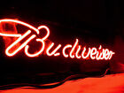 BUDWEISER BEER BAR NEON LIGHT SIGN 7MM