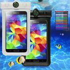 White Waterproof Bag Underwater Pouch Case Cover For Samsung Galaxy S3/5/4 MINI