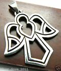 Retired James Avery Angel Openwork Cut-Out Pendant Large Size, GORGEOUS!