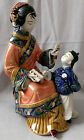 Chinese Porcelain Ceramic Figurine Statue Sculpture Delicate Beauty of Asia
