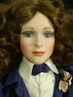 "Limited edition # 141 Morgan Brittany Porcelain Victorian Doll 24"" tall"