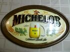 Vintage Michelob Beer Oval 3-D Sign Anheuser Busch Eagle Hops Wall Plaque