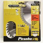 PIRANHA 150MM HI-TECH PLUS TCT CIRCULAR SAW BLADE 150 x 20 30T HITACHI METABO