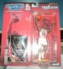 ALONZO MOURNING MIAMI HEAT 1998 EDITION STARTING LINEUP FIGURE W/CARD UNOPENED