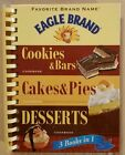 Eagle Brand Baking, Cookies, Pies & Desserts 3 Book in 1, Spiral Hardcover