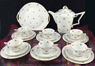 Antique Art Deco Tea Coffee Set Porcelain Gold Rosenthal Selb-Bavaria Tirana 20p