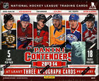 2013 14 PANINI CONTENDERS HOCKEY HOBBY BOX (FACTORY SEALED)