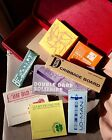 LOT OF 9 Suitcase of ARE-JAY GAME CO. INC. 8 Hardwood Maple Board Games Cribbage
