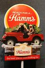 Vintage Hamms Beer Advertising Display New Old Stock Rare! Hamms Man and Bear!
