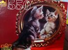 Sealed~Golden~KITTY IN MIRROR~550 Piece Jigsaw Puzzle~15