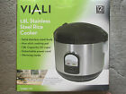 VIALI 1.8L STAINLESS STEEL RICE COOKER - BRAND NEW IN ORIGINAL BOX (VMRC7C)