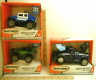 Lot of 3 Matchbox Rescue Net Interactive Learning Rescue Police Tow