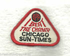 Vintage Beat The Champ Chicago Sun Times Iron On Bowling Patch