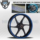 REFLECTIVE RIM TAPE WHEEL STRIPE MOTO BIKE AUTO DECAL STICKER 16 17 18 19 INCH