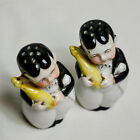 Charming German Vintage Ceramic Salt and Pepper Shakers