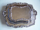 Vintage Covered Server Poole Silver Co No 402 Silverplate Double Purpose 2 in 1