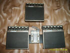 BOSS Dr. Pad DRP 1, 2 &3 Drum Synthesizer Pad RARE FULL SET w/mounting bracket