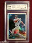 Mike Giancarlo Stanton 2010 Topps Chrome Refractor Rookie Card Gem Mt 10