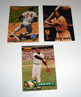 Willie Mays 1993 1994 3 CARD lot Ted Williams Card Co NO Dupes F