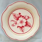 Floral Salad Plate Pink Fitz & Floyd TOWN & COUNTRY 6532717