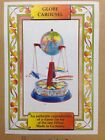 Rocket Globe Carousel Blomer &Schuler,Tin Toys,Made in Germany 1950 reproduction