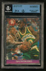 GARY PAYTON Autograph Foreign Issue #84 Puzzle Card BGS JSA Authenticated