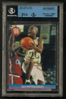GARY PAYTON Autograph Foreign Issue #168 Puzzle Card BGS JSA Authenticated