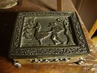Post WWII Japan Art Deco Whimsical Jewelry Box