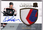 2010-11 Upper Deck The Cup ERIC LINDROS Limited Logos Auto Autograph #25 50