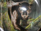 NATIONAL WILDLIFE FEDERATION EYES OF THE NIGHT COLLECTOR PLATE BLACK PANTHER CAT