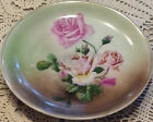 Antique Hand Painted Plate Marked C.T Wasser Germany 8-1/4