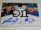 2010-11 THE CUP STEVEN STAMKOS JOHN TAVARES HONORABLE NUMBERS AUTO PATCH 39 91