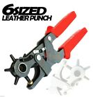6 Sized Heavy Duty 9 1 2 Leather Hole Punch Hand Pliers Belt Punches Revolving