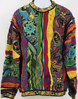 Very Rare Vintage Australia Coogi Sweater Bright Colors Sz. XL Biggie Smalls