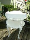 ViNtAgE shabby chic french style carved wood table