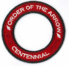 Order of the Arrow Centennial 1915-2015 World Crest Ring Private Non BSA T1 RED