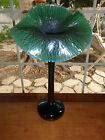 Orient & Flume Smallhouse Jack in the Pulpit Blue Irridescent  Vase Signed