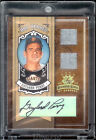 2005 Donruss HOF Heroes Autograph Dual Jersey Patches Gaylord Perry #11 25